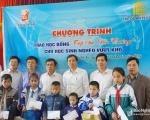 Tecco Group chắp cánh ước mơ đến trường cho 30 học sinh nghèo Nghệ An